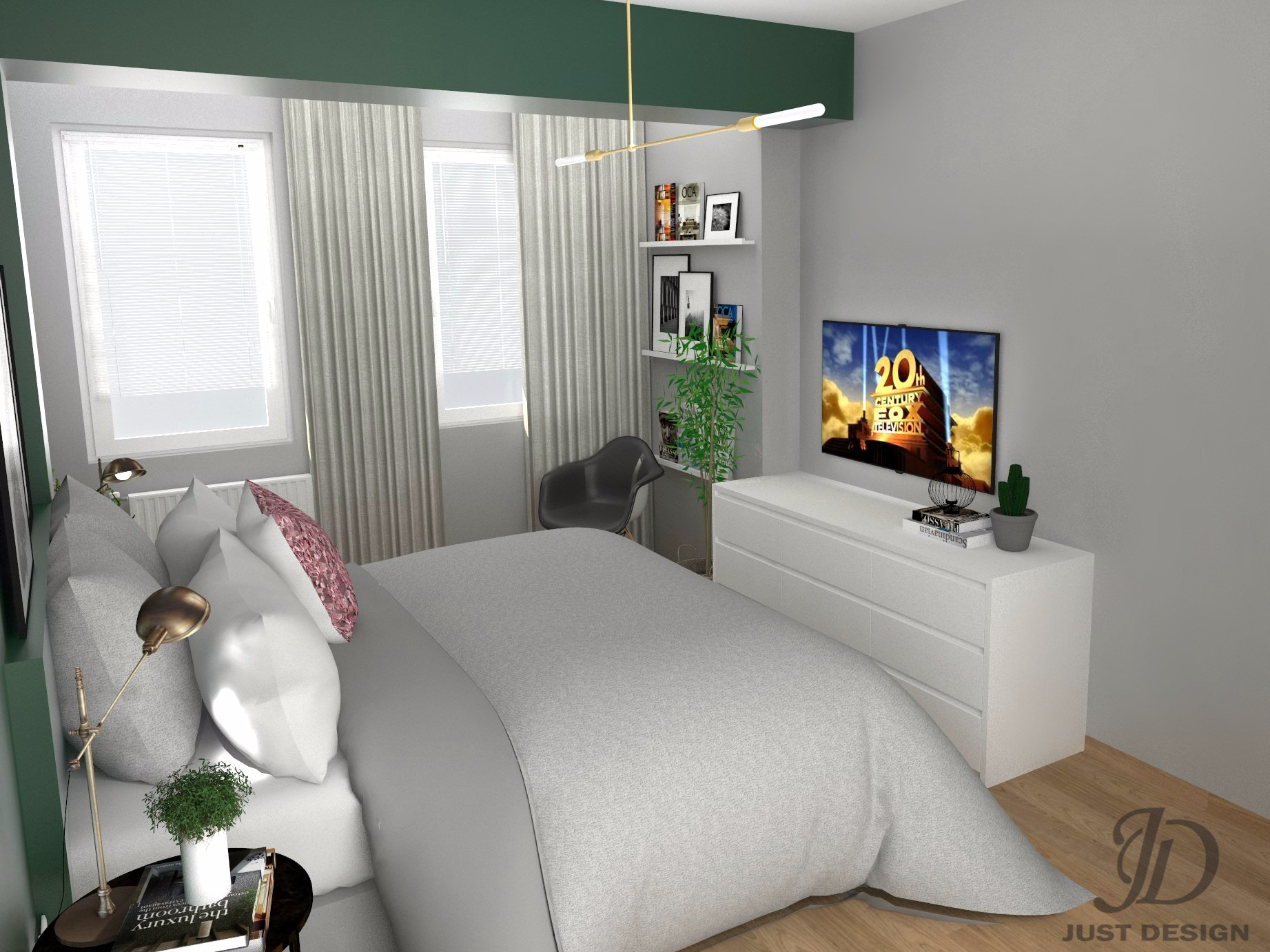 vnatresno ureduvanje na spalna soba